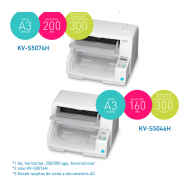 Scanner KV-S5076H 100 ppm- KVS5046H 80 ppm